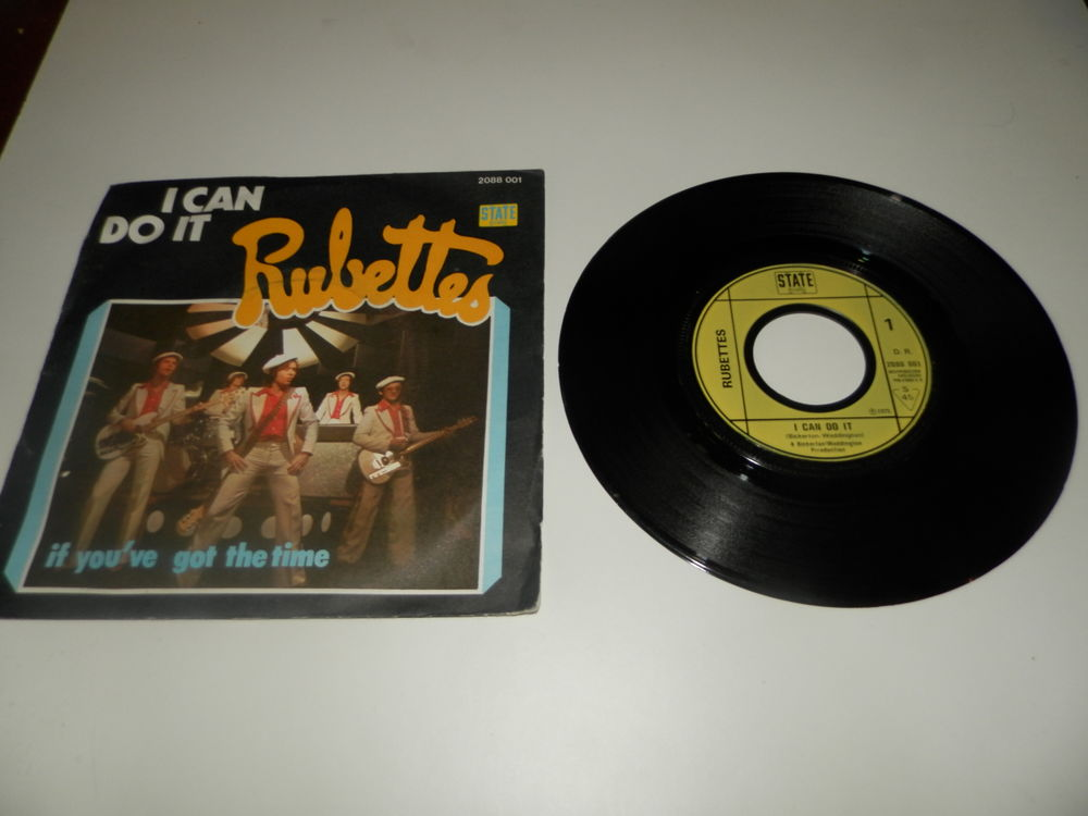 Rubettes - I can do it + if you've got the time CD et vinyles
