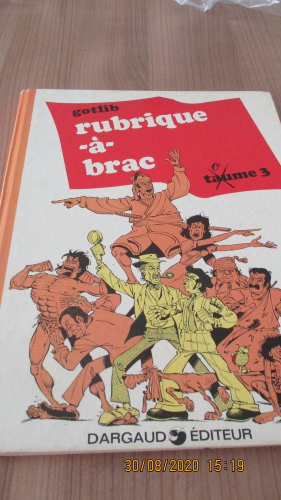BD rubrique à brac  de Gotlib 1972 10 Perpignan (66)