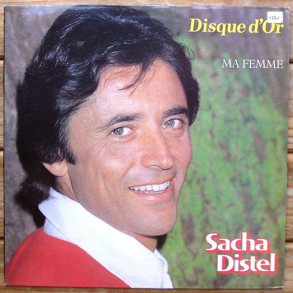 SACHA DISTEL-33t-DISQUE D'OR-MA FEMME-Pour Une Nuit Avec Toi 4 Tourcoing (59)