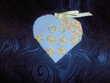 4 sachets coeurs (79) Décoration