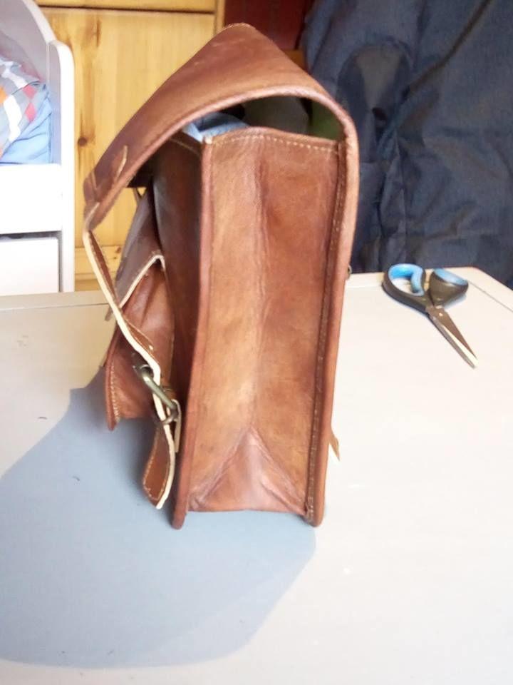 541279bbfc Achetez sacoche cuir naturel quasi neuf, annonce vente à Saint-Brieuc (22)  WB160971557