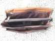 Sacoche documents en cuir souple marron, Cartable Décoration