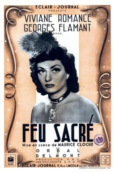 FEU SACRE avec viviane Romance 0 Rosendael (59)