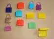 Lot de 12 sacs anciens Barbie