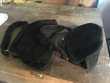 2 sacs à main noirs 1940 Maroquinerie