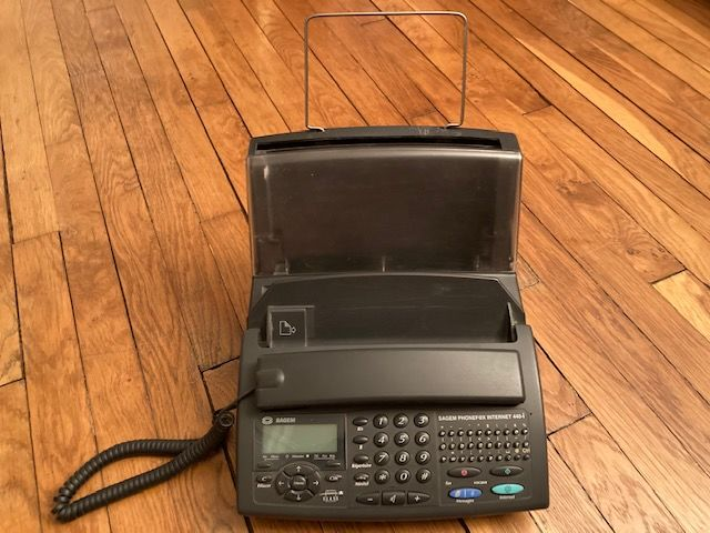 FAX SAGEM 440-i PHONEF@X INTERNET 60 Paris 18 (75)