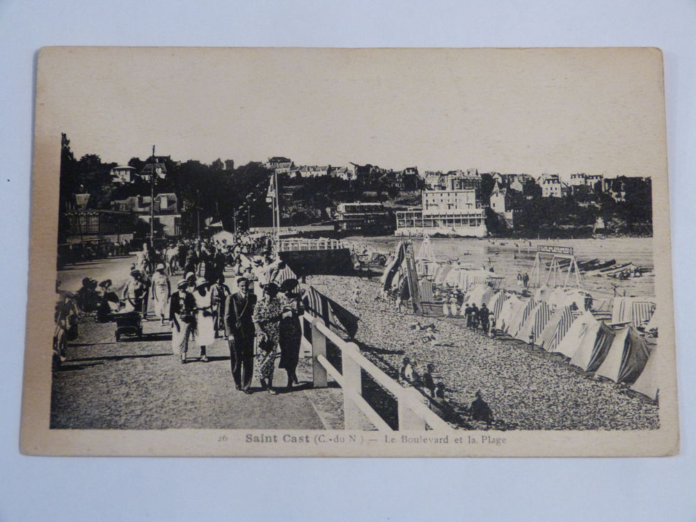 SAINT CAST - LE BOULEVARD ET LA PLAGE 2 Brest (29)