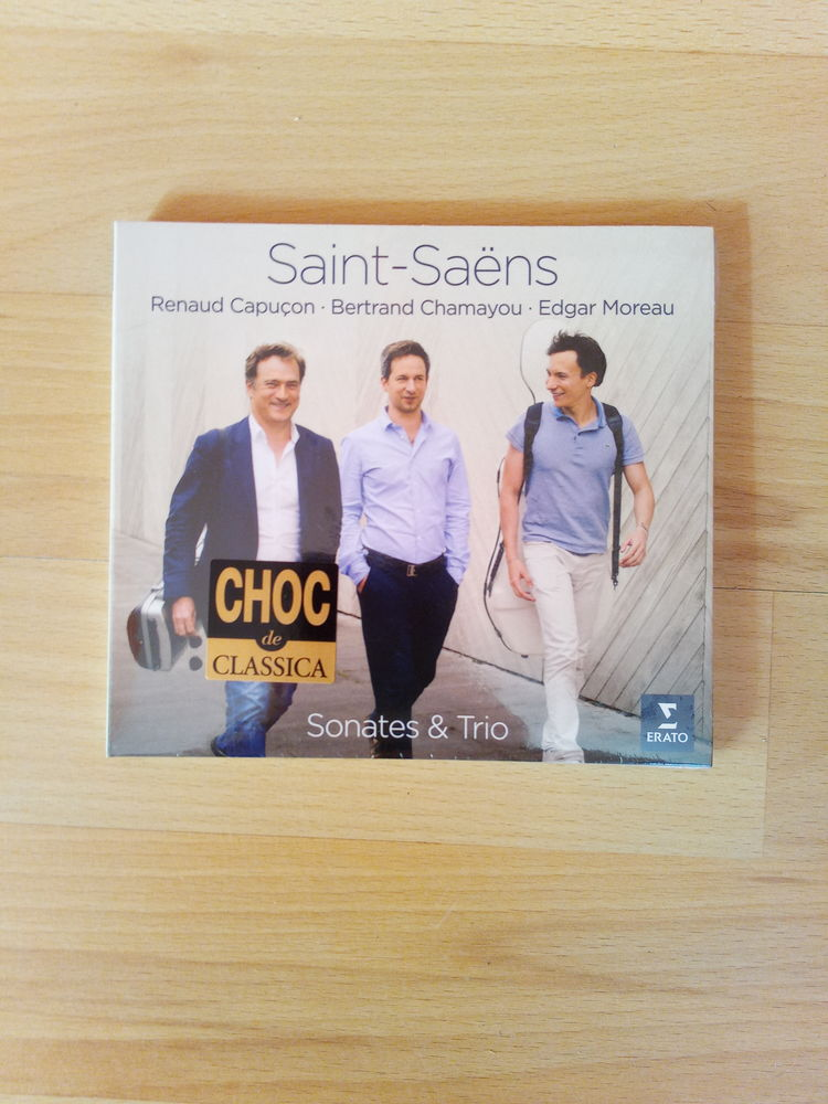 CD Saint-Saëns: Sonates et Trio (Neuf) 19 Ardoix (07)