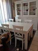 salle à manger blanche 2900 Nanterre (92)