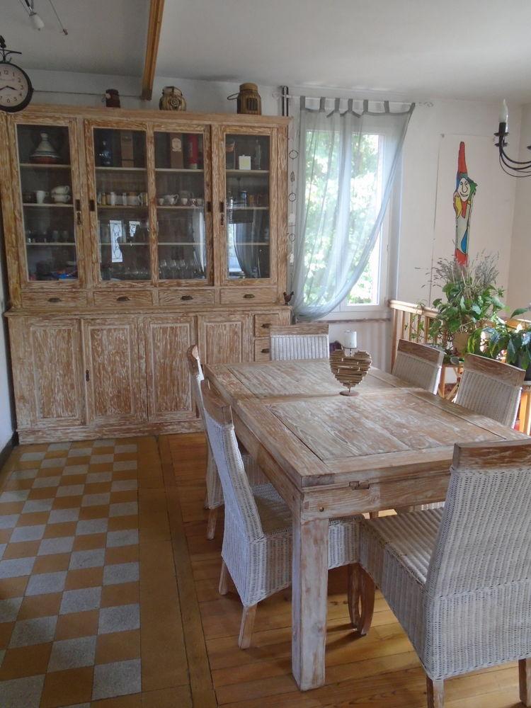 salle à manger en bois exotique 1900 Villeurbanne (69)