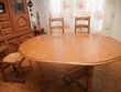 Salle à manger + 6 chaises + meuble angle tv Meubles
