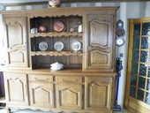 salle à manger en chêne massif (vaisselier table  6 chaises) 800 Maxéville (54)
