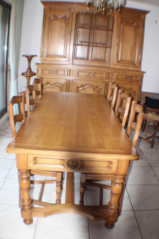 Tables en ch ne occasion dans l 39 aveyron 12 annonces - Table salle a manger chene massif ...