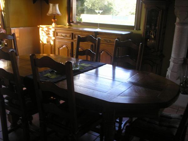 salles manger occasion le havre 76 annonces achat et vente de salles manger paruvendu. Black Bedroom Furniture Sets. Home Design Ideas