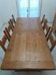salle à manger complete en chêne massif Bezons (95)