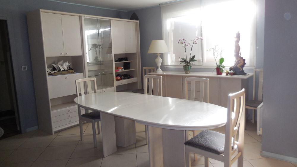 Salle à manger complète en frêne blanc massif 500 Saint-Médard-en-Jalles (33)