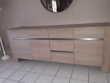 salle à manger couleur chêne clair et gris état neuf Meubles