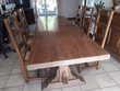 salle à manger - enfilade - table - 6 chaises paillée Darvoy (45)