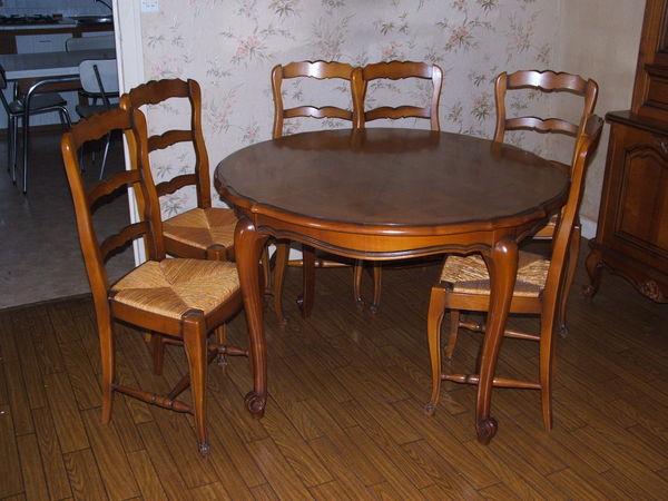 Achetez salle manger occasion annonce vente chauvigny for Salle manger merisier