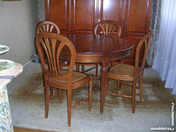 Achetez salle manger occasion annonce vente montigny for Salle a manger merisier