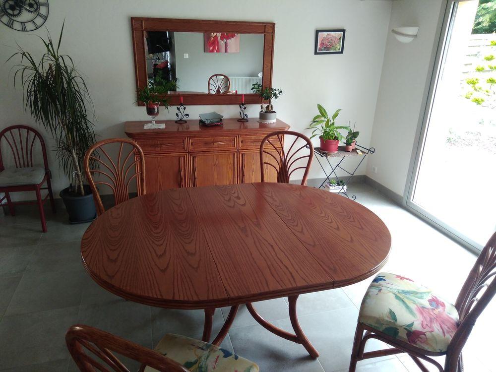 salle manger en rotin couleur Merisier 0 La Roche-sur-Yon (85)