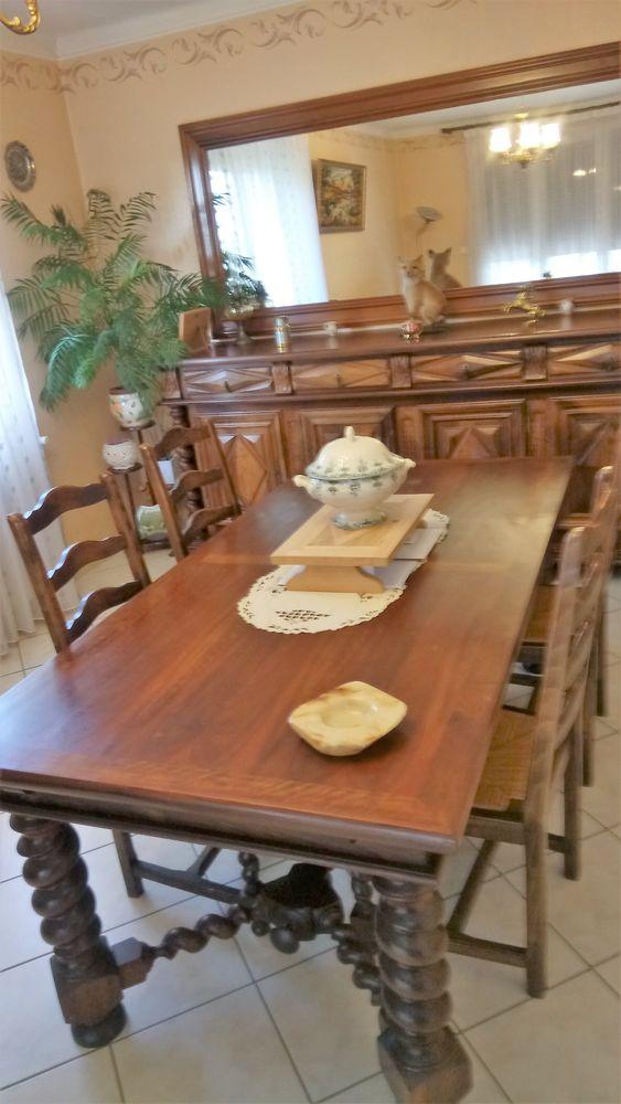 salle manger rustique meubles
