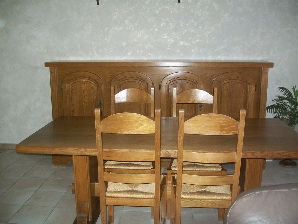 Chaises rustiques d occasion 7 wb155292899 for Salle a manger d occasion