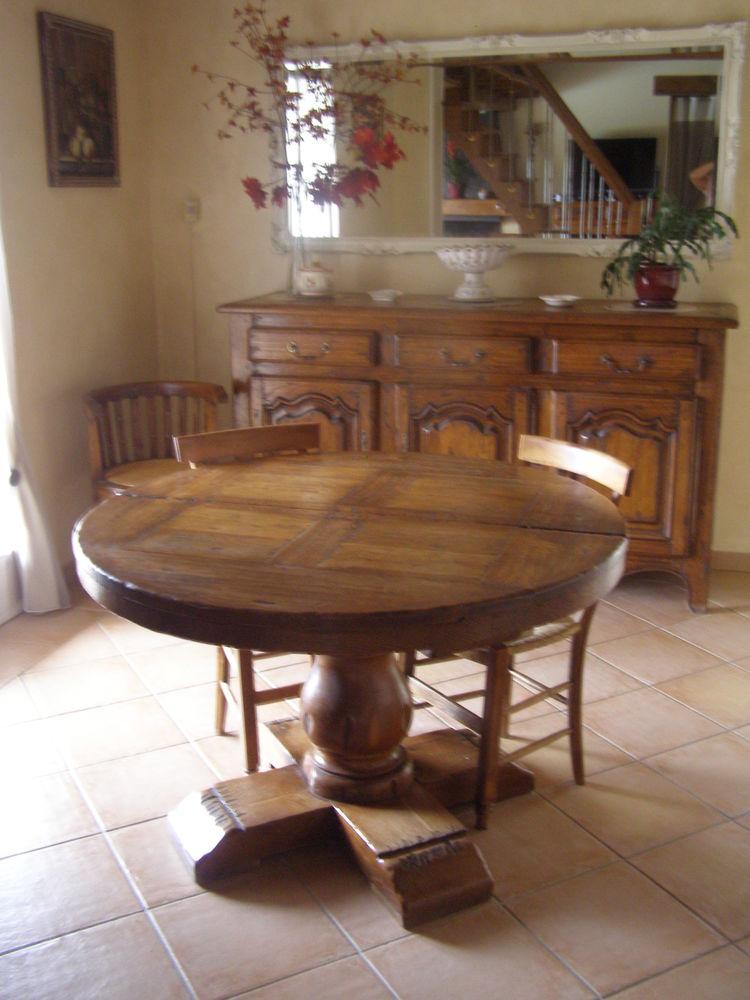 tables en ch ne occasion en haute garonne 31 annonces achat et vente de tables en ch ne. Black Bedroom Furniture Sets. Home Design Ideas
