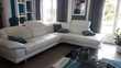 salon d'angle en cuir blanc ( CUIR CENTER) Aigrefeuille-sur-Maine (44)