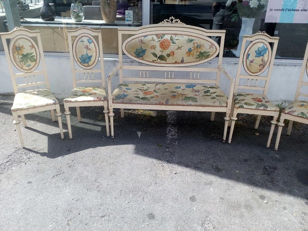 Salon banquette + 4 chaises 65 Toulouse (31)