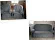 Salon canapé et 2 fauteuils en alcantara + housses