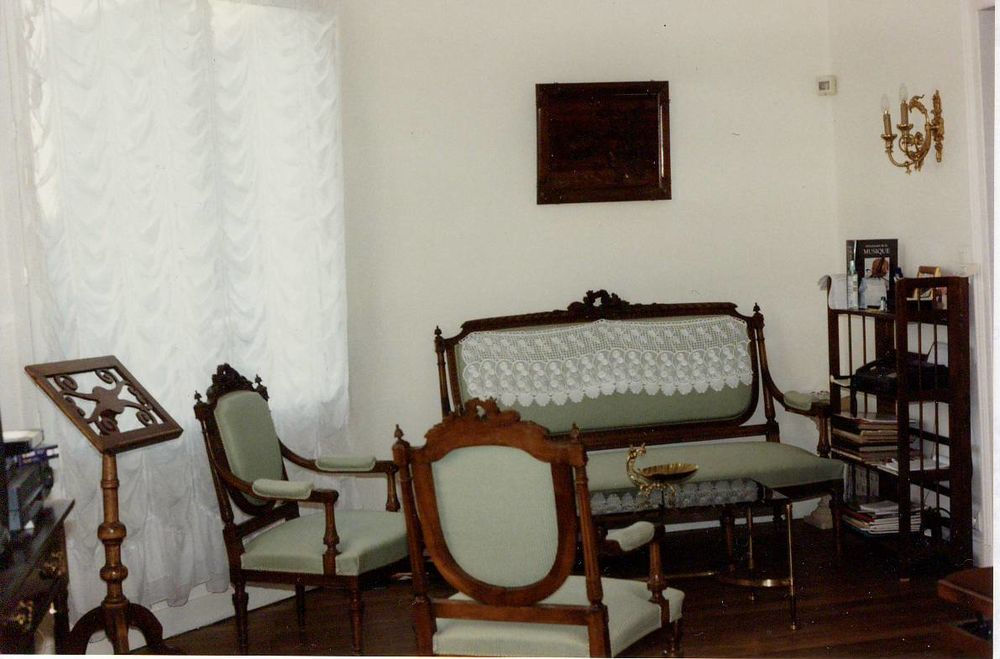 Salon : canapé 3 pl, 2 fauteuils, 2 chaises Louis XVI 0 Tours (37)