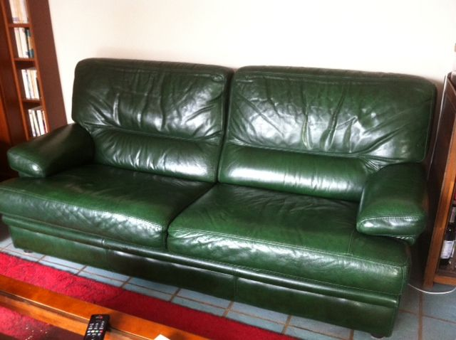 Achetez salon en cuir de quasi neuf annonce vente amilly 45 wb154913347 - Salon en cuir de buffle ...