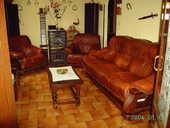 salon en cuir marron 800 Montgaillard (09)