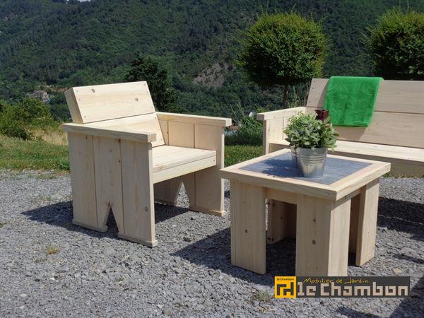 Achetez salon de jardin en unique collector annonce vente les olli res sur eyrieux 07 - Salon de jardin en palette a vendre ...