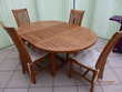 salon de jardin -table +4 chaises Meubles