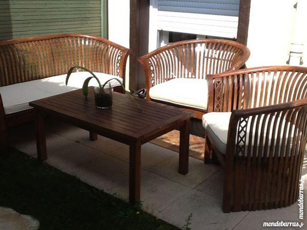 Meubles teck occasion en basse normandie annonces achat et vente de meubles teck paruvendu - Salon de jardin teck occasion ...
