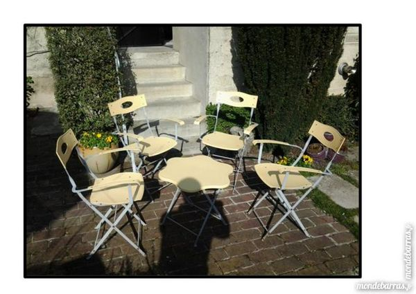 Achetez Salon De Jardin Occasion Annonce Vente Ay 51 Wb153073200
