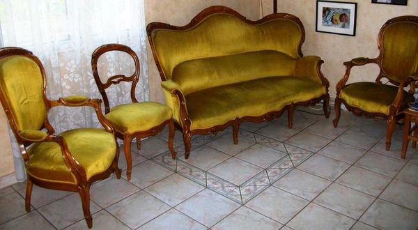 Achetez salon louis philippe occasion annonce vente pernon 28 wb150110028 for Jardin 19eme siecle