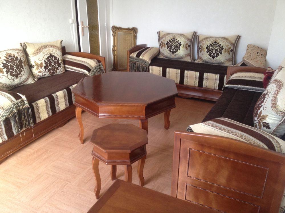 achetez salon marocain noeuf quasi neuf annonce vente massy 91 wb154504077. Black Bedroom Furniture Sets. Home Design Ideas