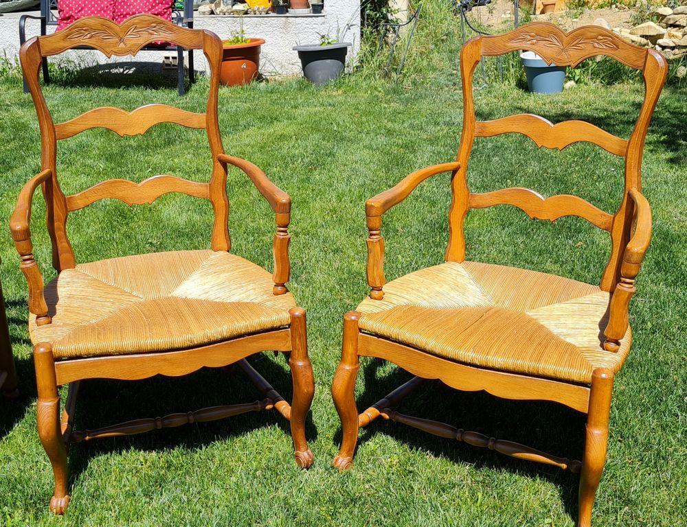 Salon provençal : Radassier 2 places + Paire de fauteuils 300 Saint-Jean-de-Crieulon (30)
