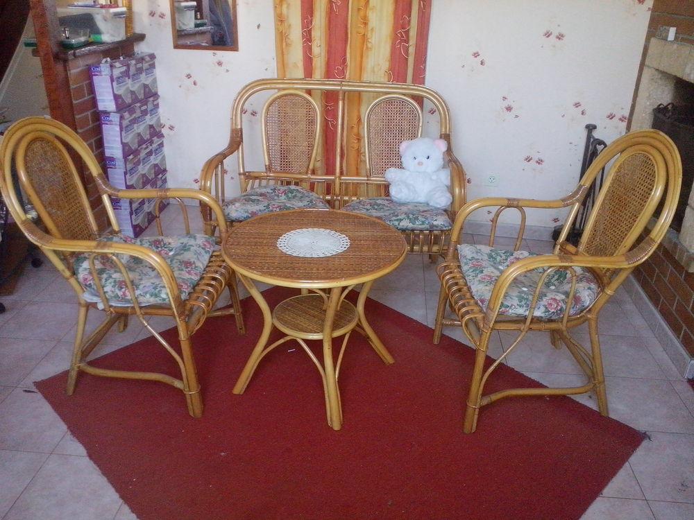 Salon en rotin artisanal 160 Melun (77)