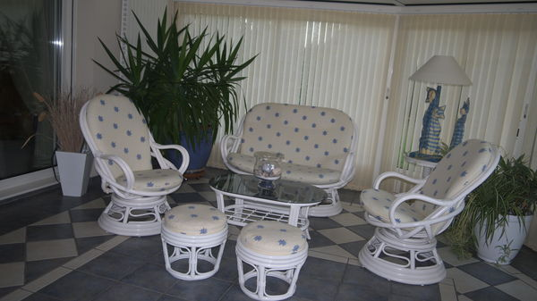 Achetez salon rotin quasi neuf annonce vente bordeaux 33 wb151339892 - Salon rotin interieur ...