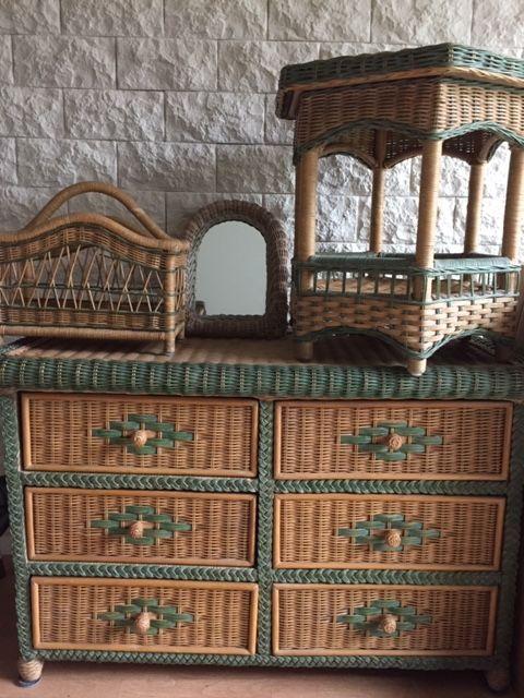 Salon en rotin de 6 pièces  300 Gennevilliers (92)