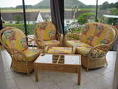 Salon en rotin et table et chaises en rotin 900 Ruitz (62)