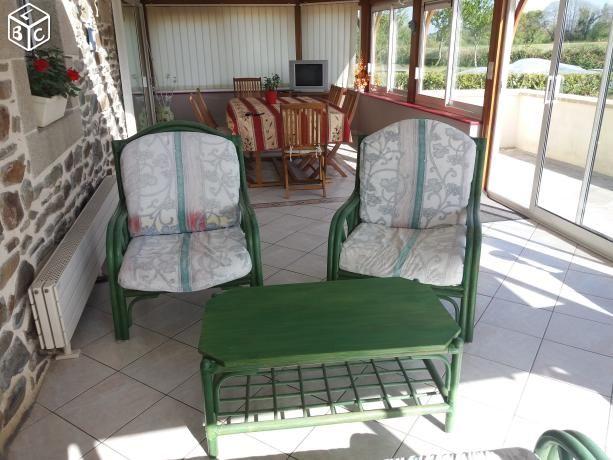 fauteuils rotin occasion dans les c tes d 39 armor 22 annonces achat et vente de fauteuils rotin. Black Bedroom Furniture Sets. Home Design Ideas