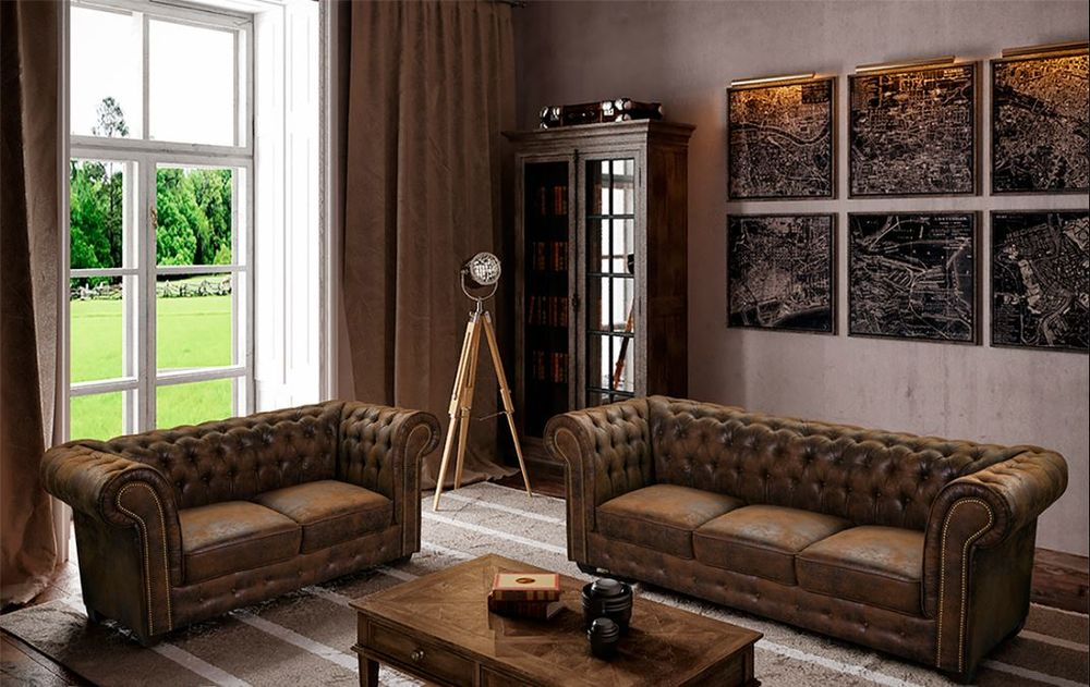 canap s chesterfield occasion annonces achat et vente de canap s chesterfield paruvendu. Black Bedroom Furniture Sets. Home Design Ideas