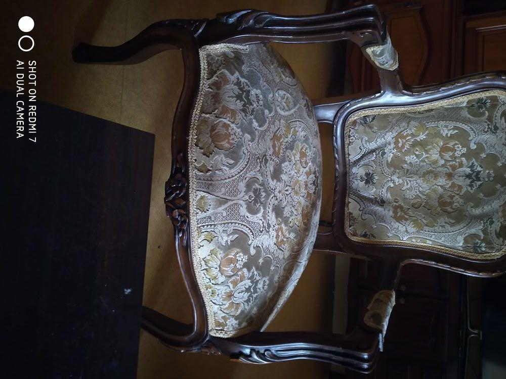 Salon style Louis XV 2chaises 2 fauteuils et 1 banquette 0 Meaux (77)