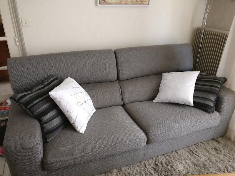 Salon tissus : 1 canapé + 1 fauteuil 550 Heuringhem (62)