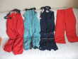 Salopettes et pantalon de ski enfants